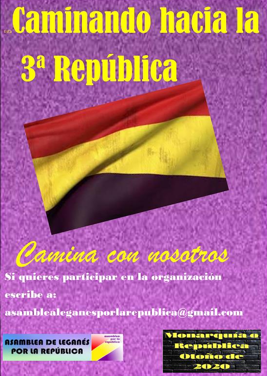 Caminando hacia la tercera república